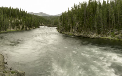 Yellowstone River Flow